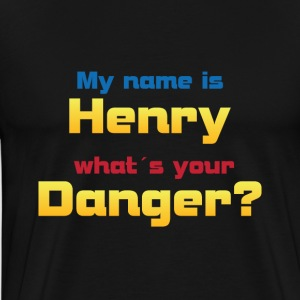 My name is Henry...? - Männer Premium T-Shirt