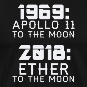 2018 Ether to the Moon - Männer Premium T-Shirt