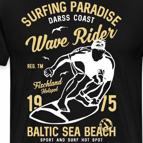 OSTSEE - Darss Wellen Reiter Geschenke Surf Shirts - Männer Premium T-Shirt