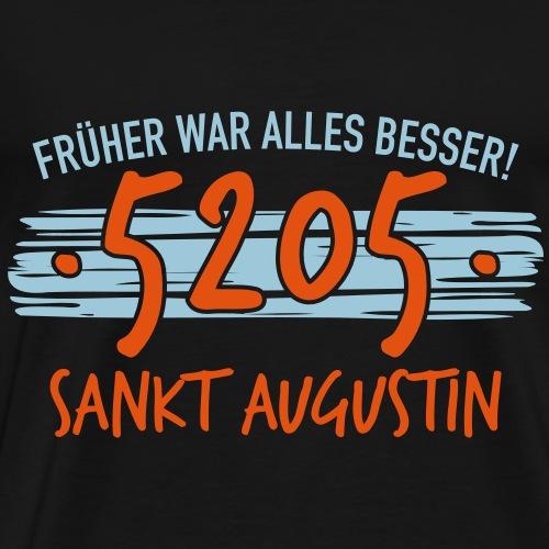 Früher 5205 Sankt Augustin Geschenk - Männer Premium T-Shirt