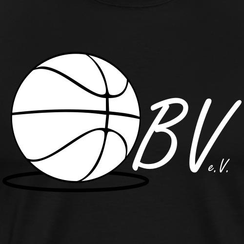 Logo black & white - Männer Premium T-Shirt