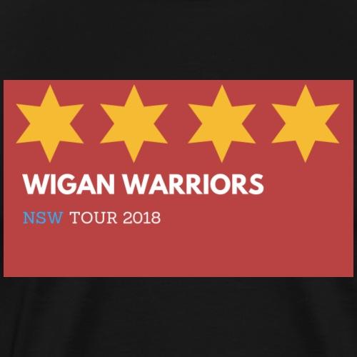 Wigan warriors NSW 2 TOUR - Men's Premium T-Shirt