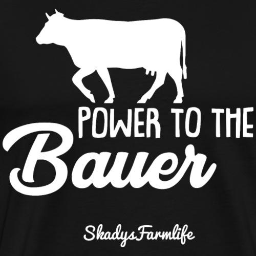 Power to the Bauer - Original Shop Merch ☆ - Männer Premium T-Shirt