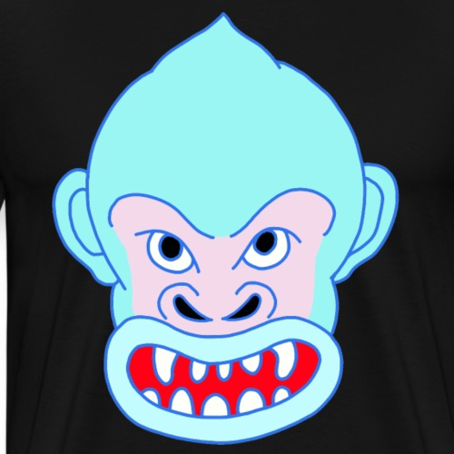 Blue Gorilla - Männer Premium T-Shirt