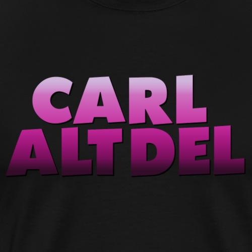 Carl Alt Del Logo - Men's Premium T-Shirt