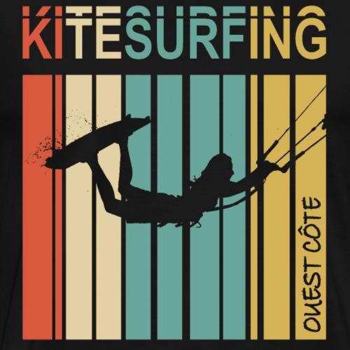 Kitesurfing II Ouest Côte - T-shirt Premium Homme