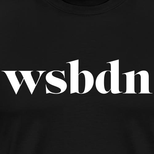 wsbdn - Männer Premium T-Shirt
