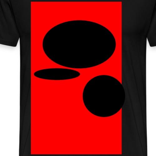 Black Bubbles - Männer Premium T-Shirt