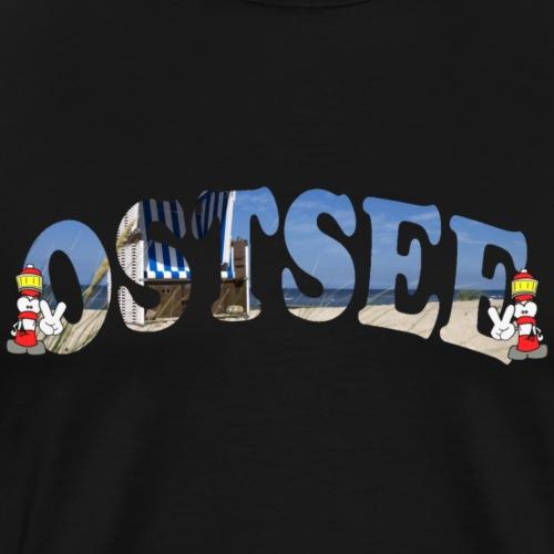 Ostsee - Männer Premium T-Shirt