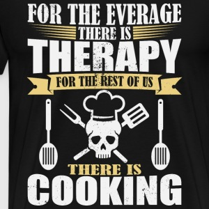 Awesome cooking therapy - Cook - Men's Premium T-Shirt