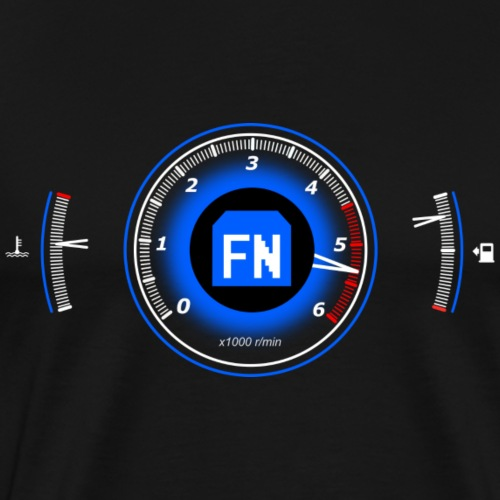 8. Gen Dashboard Diesel - Männer Premium T-Shirt