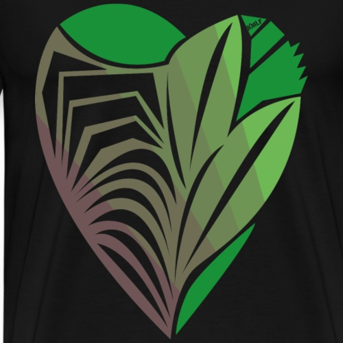 Vert d'Amour - T-shirt Premium Homme