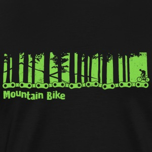 Mountain bike - bicycle - Men's Premium T-Shirt