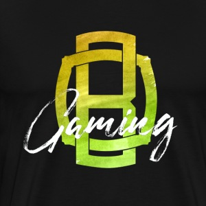 OB Gaming / White lettering - Men's Premium T-Shirt