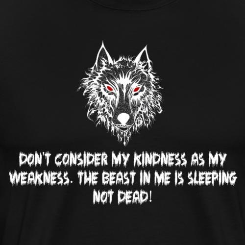 Wolf 2 - Männer Premium T-Shirt