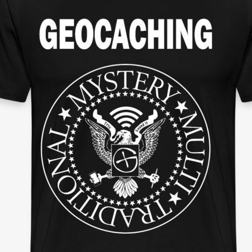 Punkcacher - Männer Premium T-Shirt