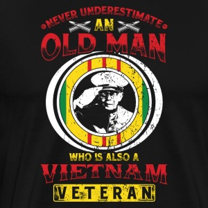 Vietnam veteraner! Veteraner! US Air Force! USA! - Herre premium T-shirt