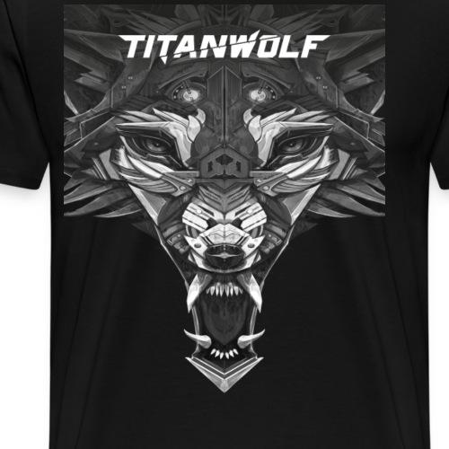 Headlogo - Männer Premium T-Shirt