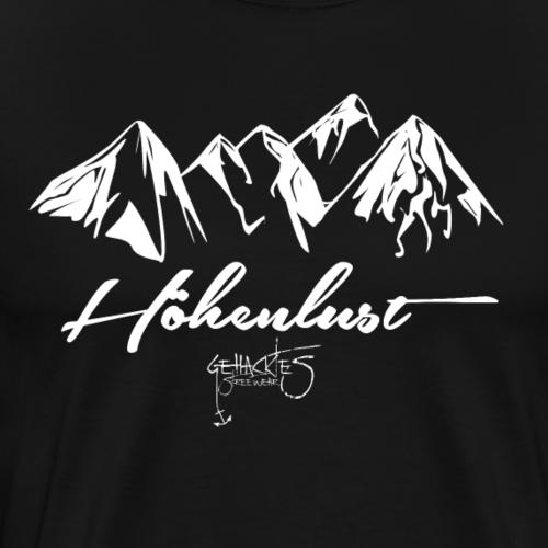 Höhenlust - Männer Premium T-Shirt