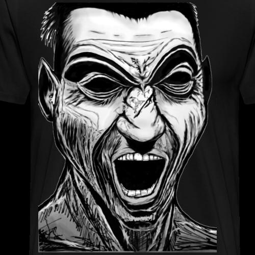 Marek's Head - Mannen Premium T-shirt
