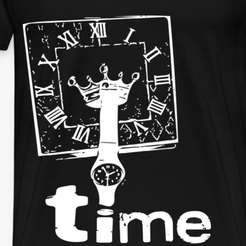 Time - The Clock - Berlin TrendDesign patteBLN - Männer Premium T-Shirt