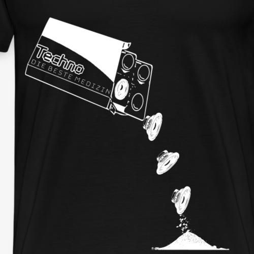 Die beste Medizin - Berlin TrendDesign patteBLN - Männer Premium T-Shirt