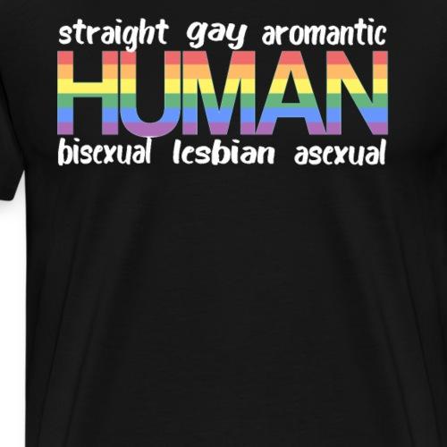 Gay Pride Lesbisch Homosexuel Shirt - Männer Premium T-Shirt