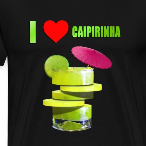 CAIPIRINHA LOVE - Männer Premium T-Shirt
