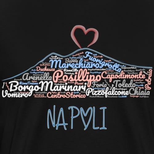 Quartieri di Napoli - Maglietta Premium da uomo