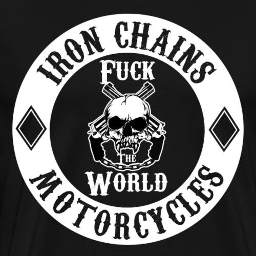 Fu*k The World ! White - Männer Premium T-Shirt