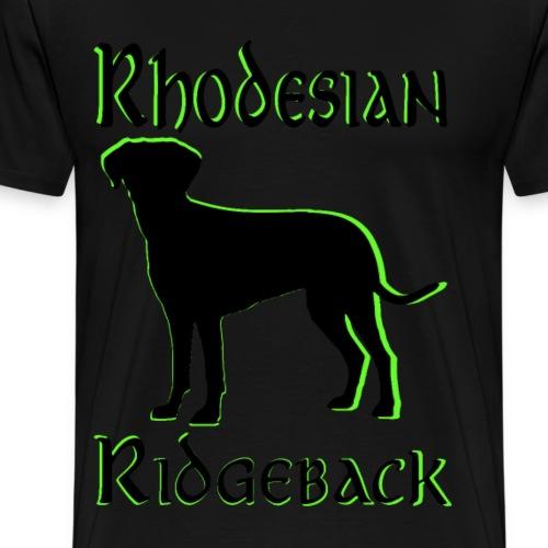 Hundekopf,Hundeliebhaber,Hundefreund,Ridgeback, - Männer Premium T-Shirt