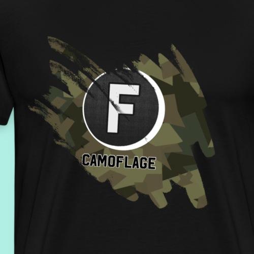 Camouflage T-shirt - Herre premium T-shirt