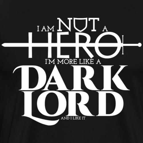 Je ne suis pas un héro - T-shirt Premium Homme