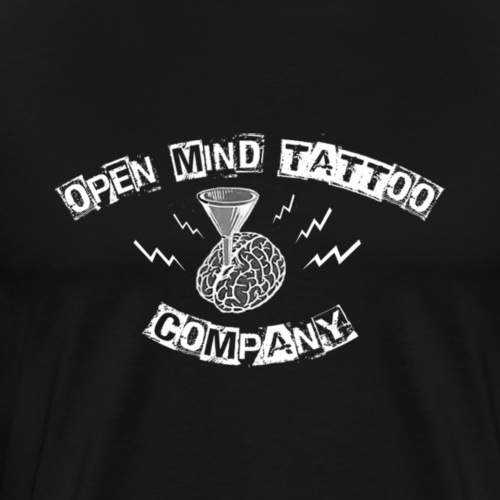 Open Mind Weiß - Männer Premium T-Shirt