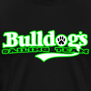 Bulldog Sailing Team ASD - Premium-T-shirt herr