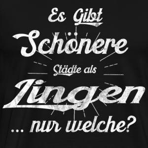 Lingen Shirt Lingen Tshirt Geschenk - Männer Premium T-Shirt