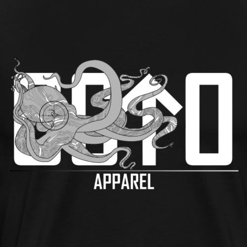 OctoApparel Logo weiss - Männer Premium T-Shirt