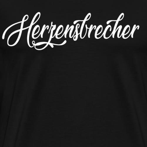 Herzensbrecher - Männer Premium T-Shirt