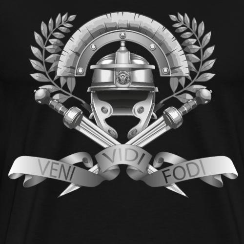 Légios - Veni Vidi Fodi - Gris - T-shirt Premium Homme