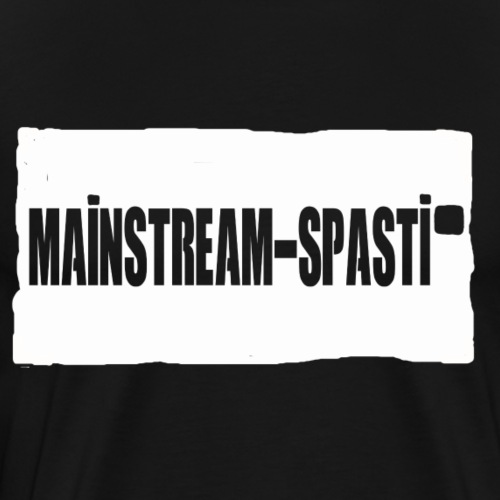 MainstreamSpasti V2 - Männer Premium T-Shirt