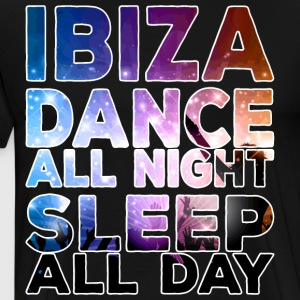 IBIZA - Dance all night sleep all day - Men's Premium T-Shirt