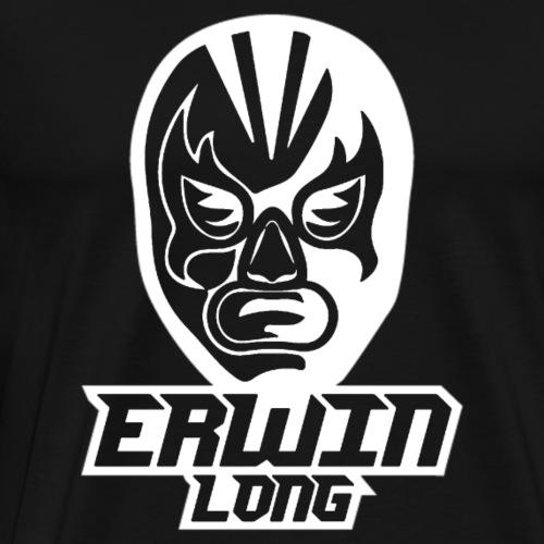 Erwin Long - Weiß - Männer Premium T-Shirt