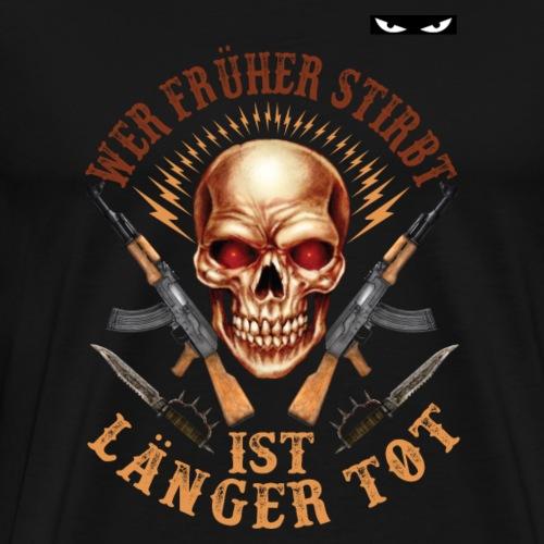 frühe Tot - Männer Premium T-Shirt
