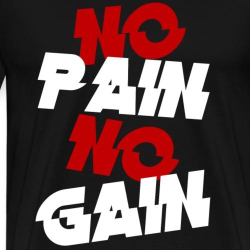 no pain - Koszulka męska Premium