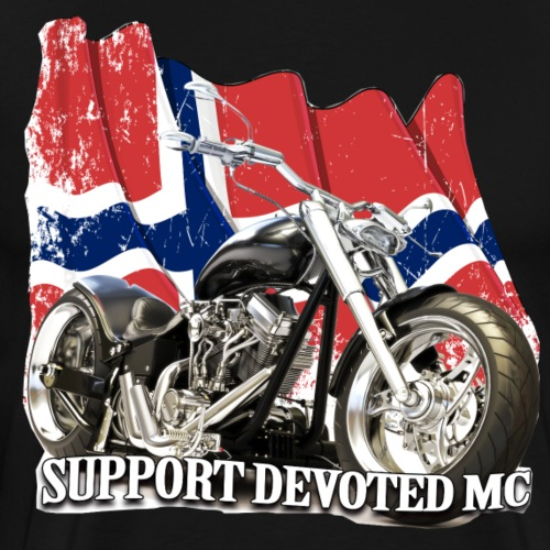 SUPPORT STREETWARE FLAG1 - Premium T-skjorte for menn