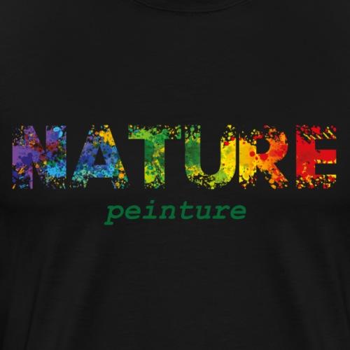 Nature Peinture - T-shirt Premium Homme
