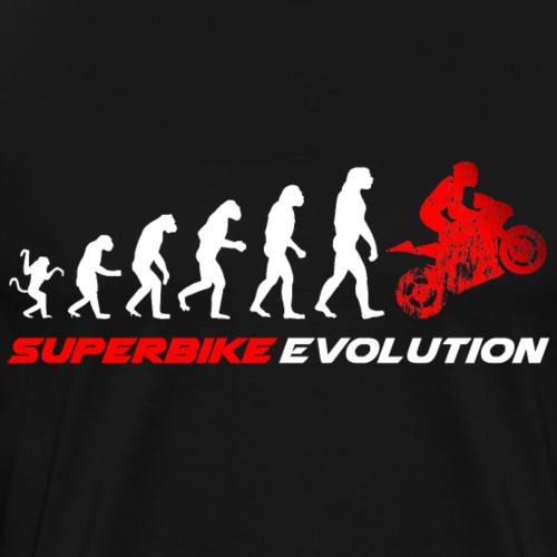 Superbike Evolution - Männer Premium T-Shirt