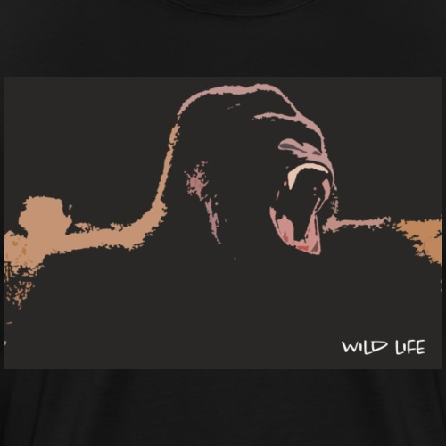 Wild Life - Gorilla jungle - T-shirt Premium Homme