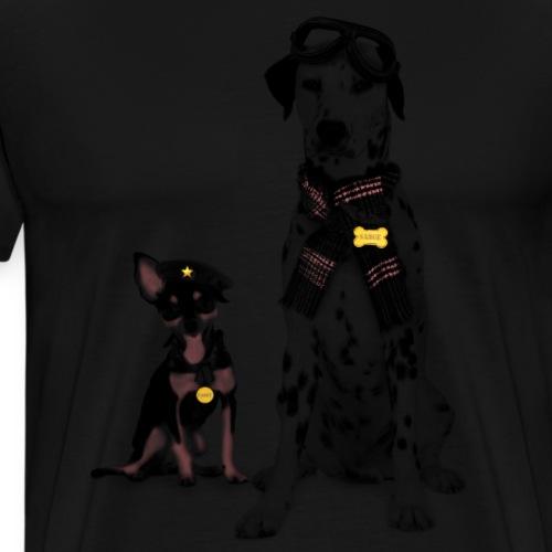 Hunde shirtDesigns - Männer Premium T-Shirt