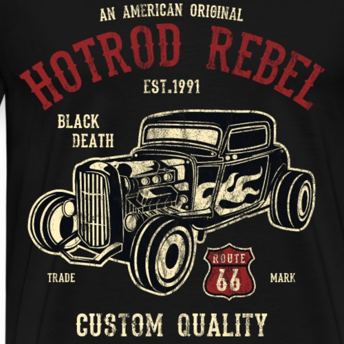 AMERICAN HOTROD - Hotrod Shirt Motiv - Männer Premium T-Shirt